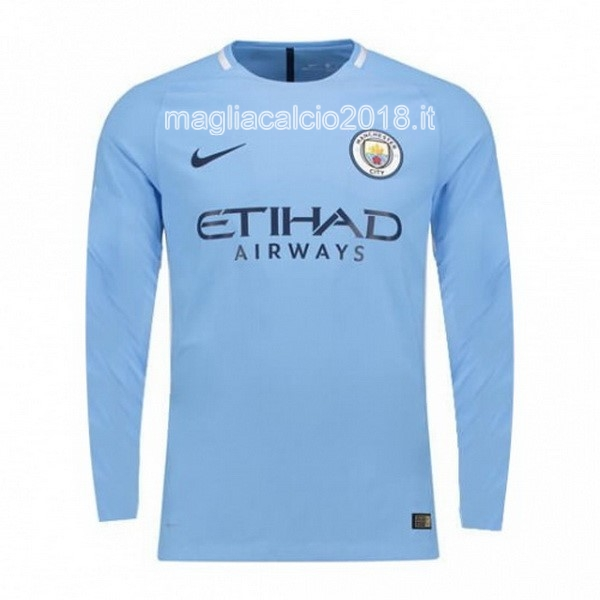 Home Manica Lunga Manchester City 2017 2018