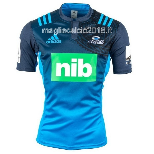 Home Rugby Maglia Blues 2016