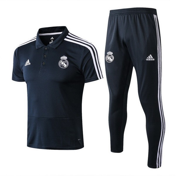 Polo Set Completo Maglia Real Madrid 2018 2019 Blu