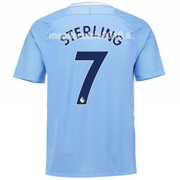 Sterling Home Maglia Manchester City 2017 2018