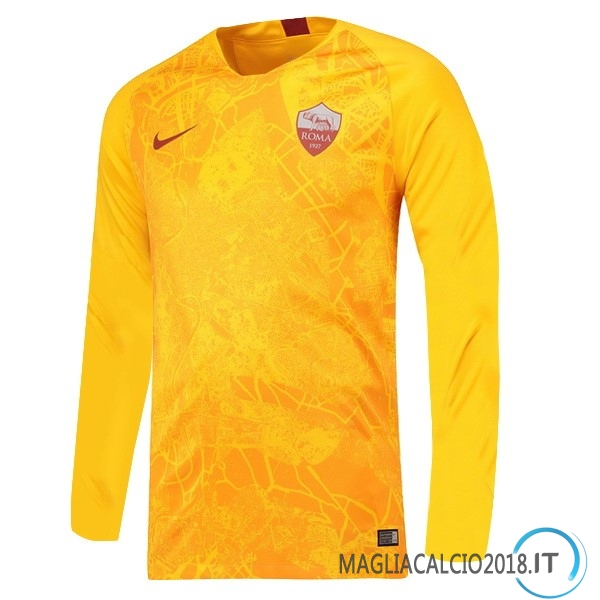 Terza Manica lunga As Roma 2018 2019