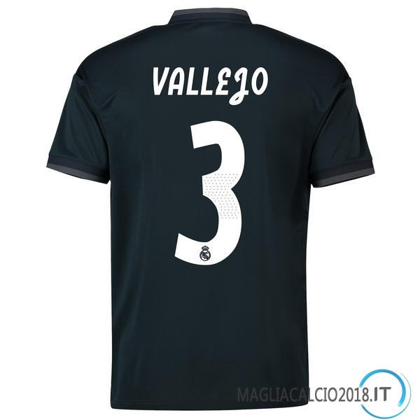 Vallejo Away Maglia Real Madrid 2018 2019