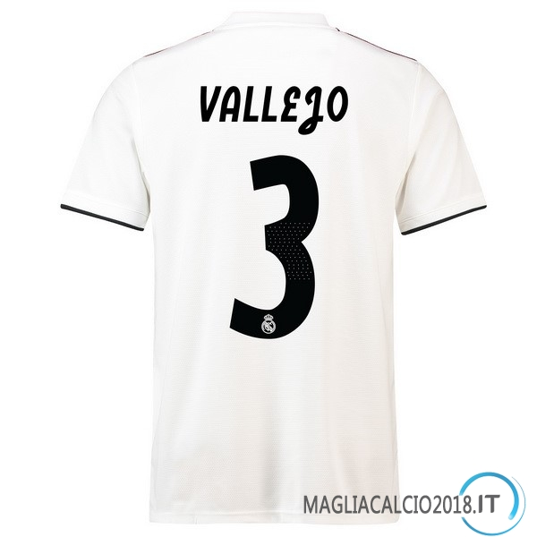 Vallejo Home Maglia Real Madrid 2018 2019